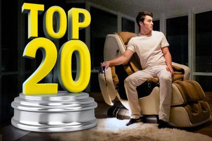 Топ-20 массажных кресел в 2021 году